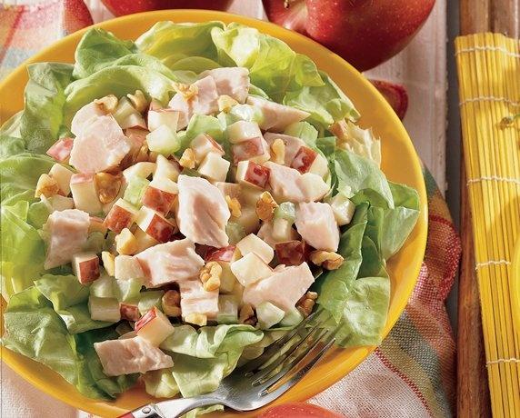 More like this: waldorf salad , turkey and salad .
