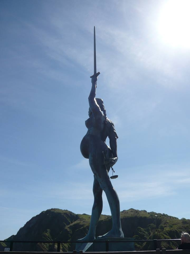 Damien Hirst's Verity, Ilfracombe   1 Sculpture/Sculptors   Pinterest
