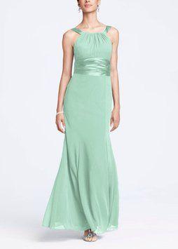 Mint Green Bridesmaid Dresses David'S Bridal - Flower Girl Dresses