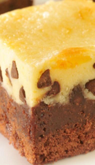 Cheesecake Topped Brownies | Bars, Brownies & Bites | Pinterest