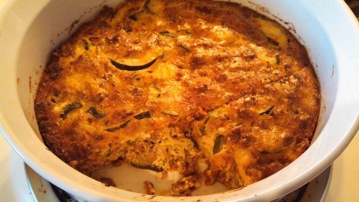 Summer Squash, Sausage, and Egg Bake | favorite recipes | Pinterest