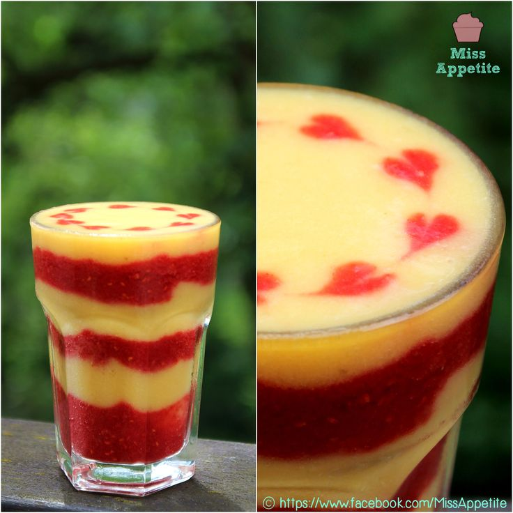 Mango-Raspberry Vegan Shake Recipe — Dishmaps