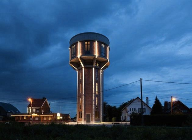 Water Tower Conversion My Dream Home Pinterest