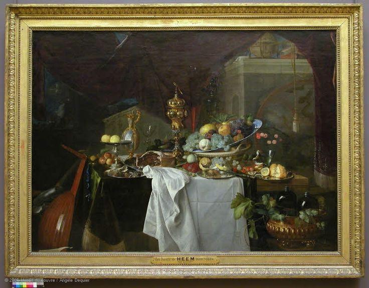 Paintings | Louvre Museum | Paris | Still Life | Pinterest: pinterest.com/pin/522065781774437260