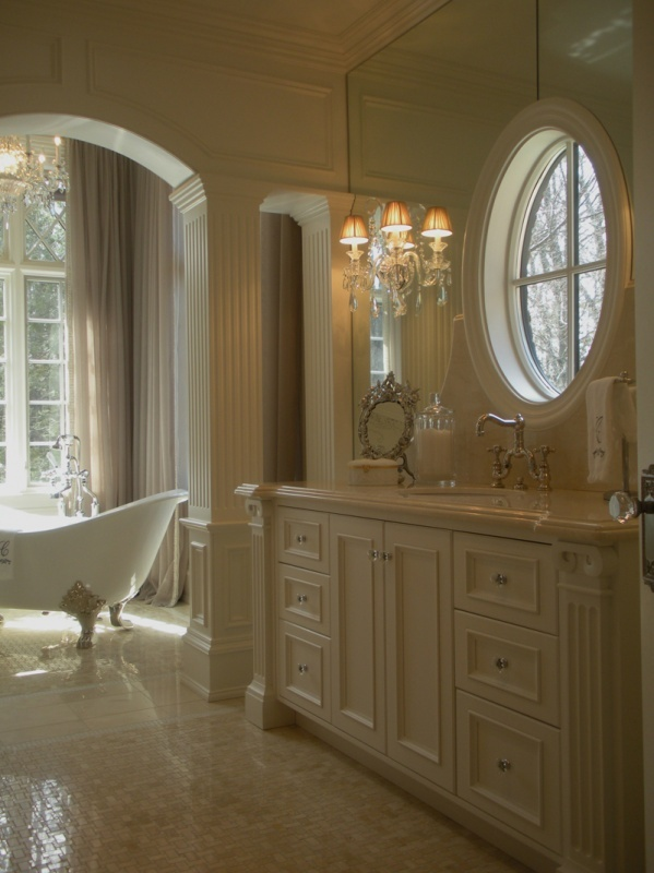 Beautiful Bathroom by Luxe Interiors  Home Decor  Pinterest