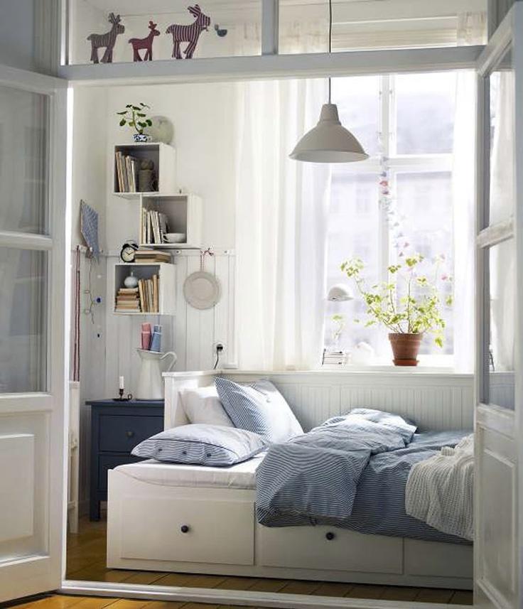 Ikea cozy! For my spare room Guest Bedroom & Bathroom