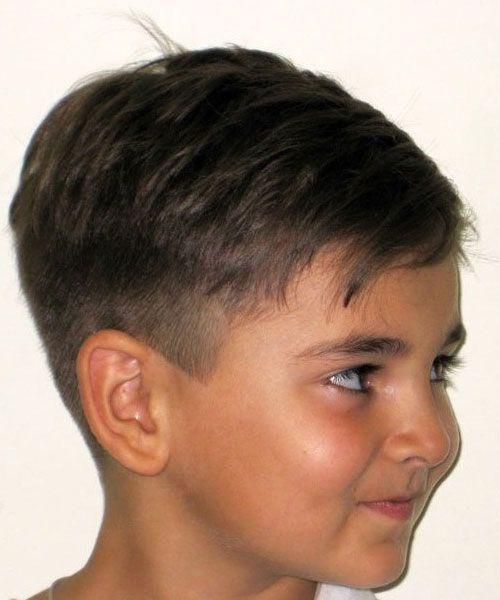 Причёски на голове для мальчиков фото