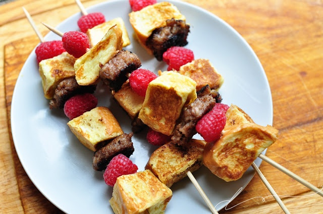 French Toast Kabobs: Make breakfast fun with our French Toast Sticks ...