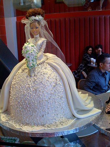 Crazy Barbie cakes #1 by MarkWallace, via Flickr