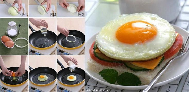 How to make a perfect fried egg... | Breakfast | Pinterest