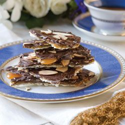 Chocolate-Almond Matzo Brittle   Tea Time Treats   Pinterest