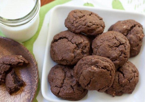 double chocolate espresso cookies   d e l i s h   Pinterest