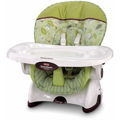 Fisher Price Space Saver High Chair Green