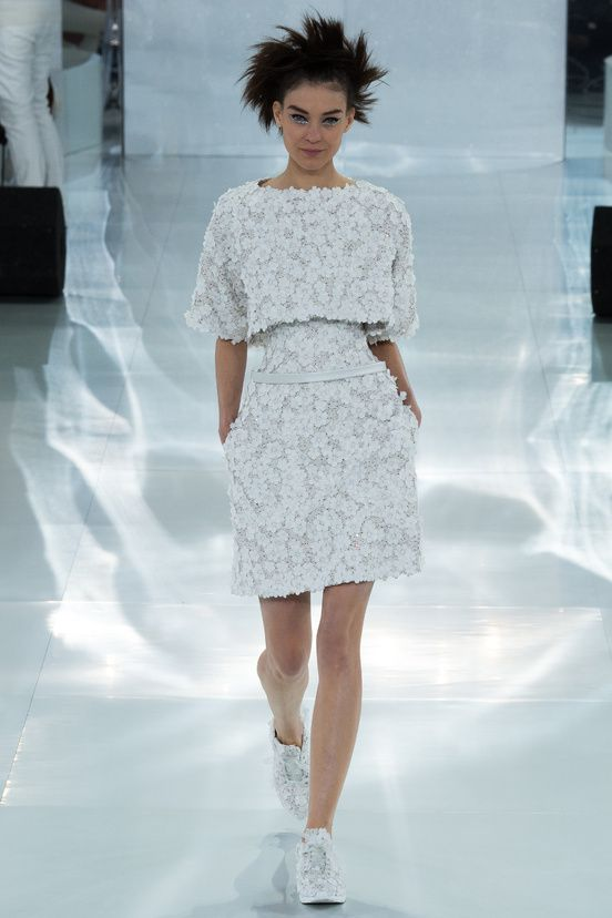 Défilé Chanel haute couture printemps-été 2014|2