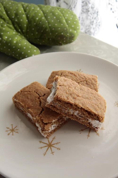 Oatmeal Cream Sandwich Bars | Christmas | Pinterest