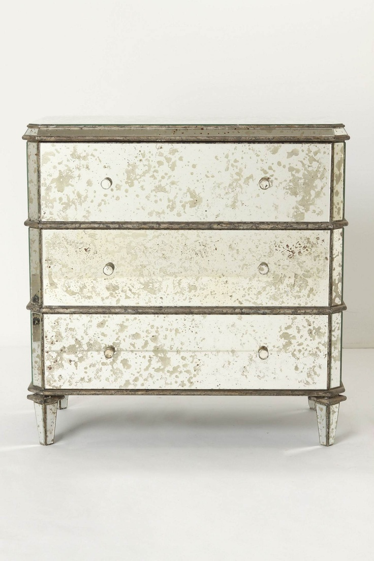 Mirrored dresser from anthropologie mirrored furniture pinterest Mirror glass furniture