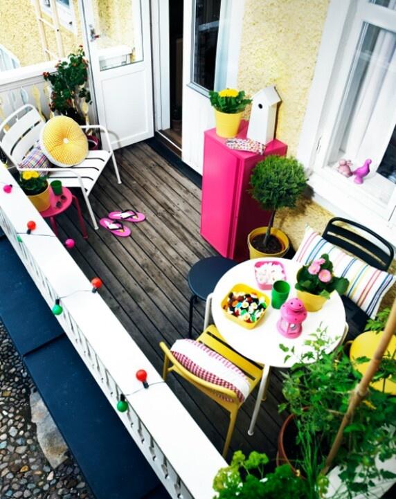 Ikea balcón