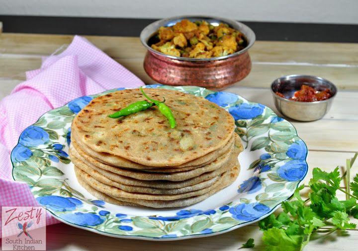 Aloo Paratha, Aloo ka Paratha: Potato stuffed flat bread Guest post f ...