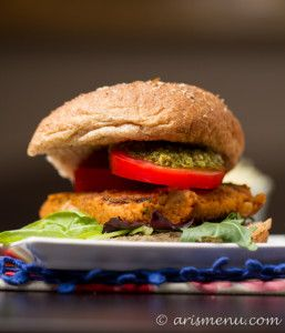 White Bean Burger With Rosemary And Sun-dried Tomatoes Recipes ...