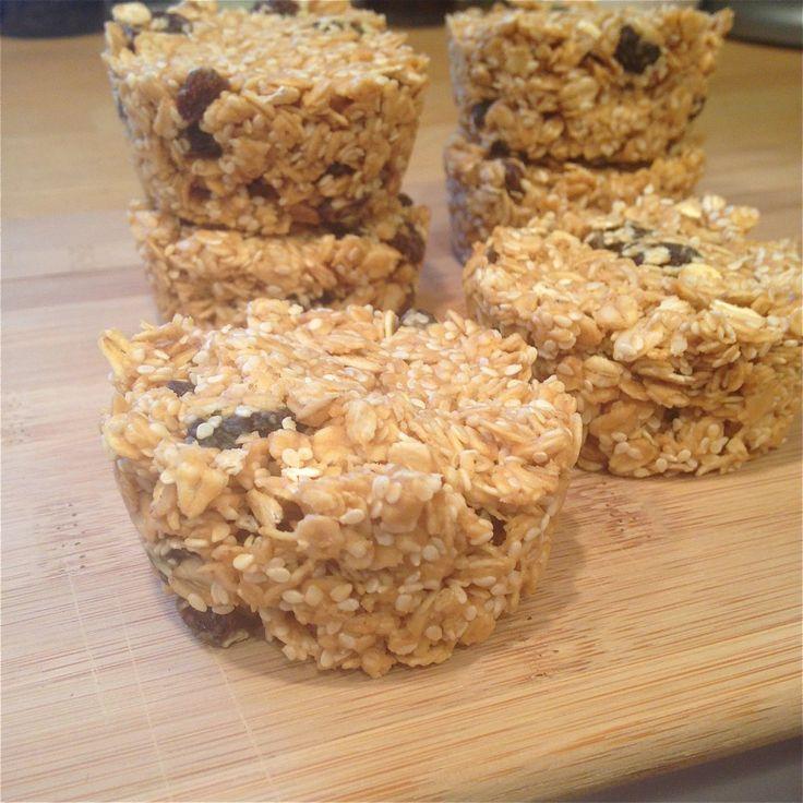 Peanut butter sesame seed bars | Food! | Pinterest