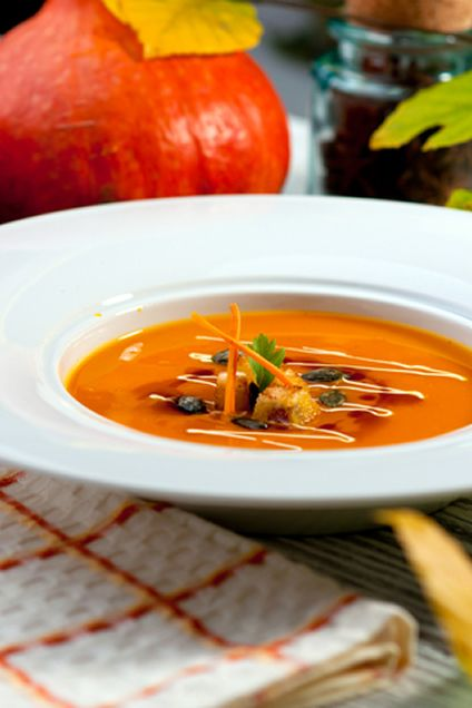 Mexican Pumpkin Soup with Fresh Herbs | Recipe