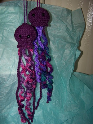 Crochet Patterns Jellyfish : Crocheted Jellyfish Create Me! Pinterest
