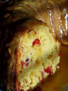 ... Bananas!: Glazed Orange Cranberry Cake ~ Mmm, love orange & cranberry