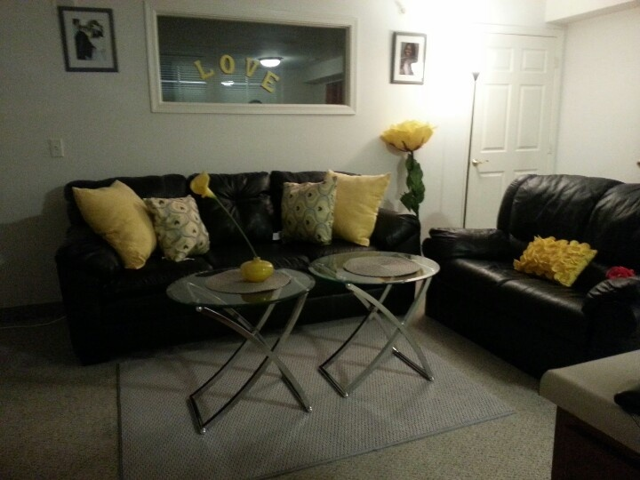 Black grey and yellow living room living room design and decor id - Black and yellow living room ...