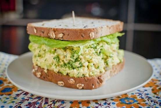 Egg Salad Sandwich.   Scrumtrulescent Food   Pinterest