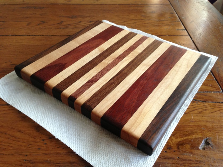 Cutting board I made. | Woodworking Ideas | Pinterest