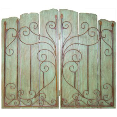 Metal gate wall d cor jcpenney home decor pinterest Jcpenney home decor