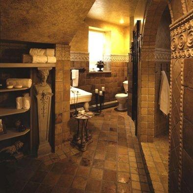 Old world bathroom for all my girls pinterest for Old fashioned bathroom ideas