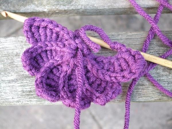 Spiral Crochet Flower Pattern Free : Pinterest
