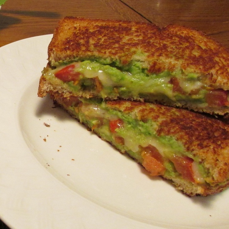 Tomato Avocado Grilled Cheese | yummy yum ness | Pinterest