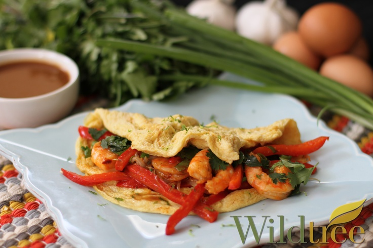 Pad Thai Omelette! www.Facebook.com/wildtreeofficial. www.mywildtree ...