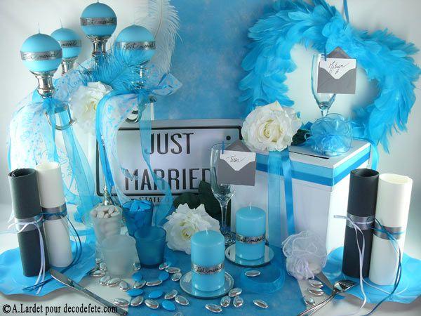 -presto-blanc-p-963.html) et dun chemin de #table #bleu #turquoise ...