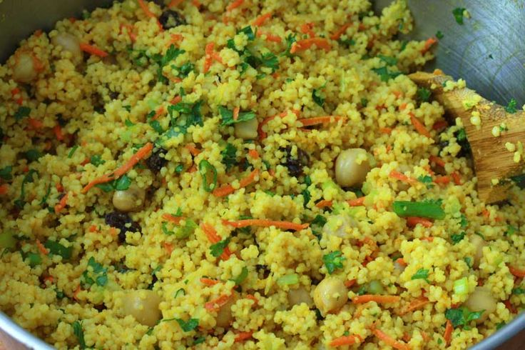 Curried Couscous Salad | Recipe