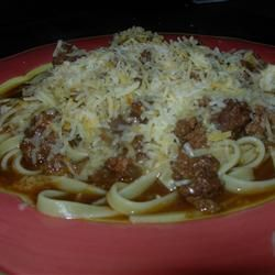 cincinnati chili i make this in the crockpot on low and serve with ...