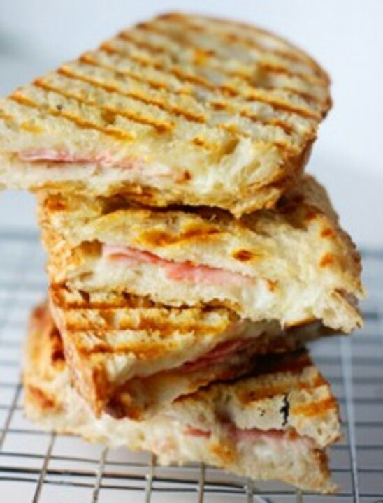 Ham and Cheese Panini. | Delicious Food | Pinterest