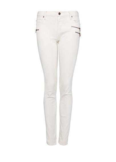 MANGO - Узкие джинсы с молниями