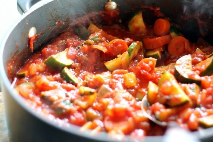 ... Arrabbiata Sauce with Zucchini (the only tomato sauce you'll