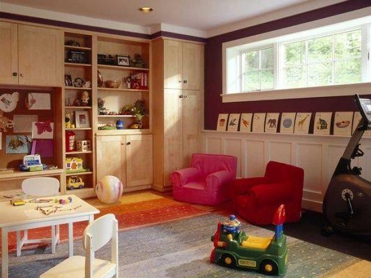 fun ideas for kids basement playroom playroom pinterest