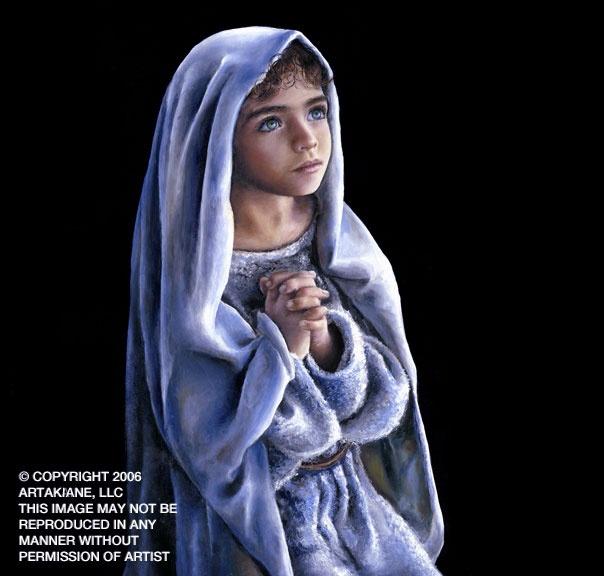 Infant jesus in prayer akiane kramarik pinterest
