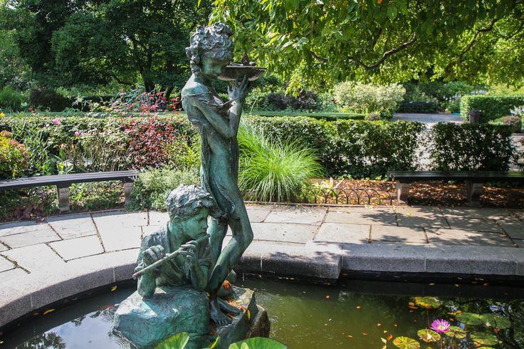 Central Park Conservatory Garden East Harlem Pinterest