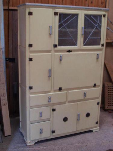 Vintage Retro 1950s Pantry Larder Kitchen Cabinet Kitchen