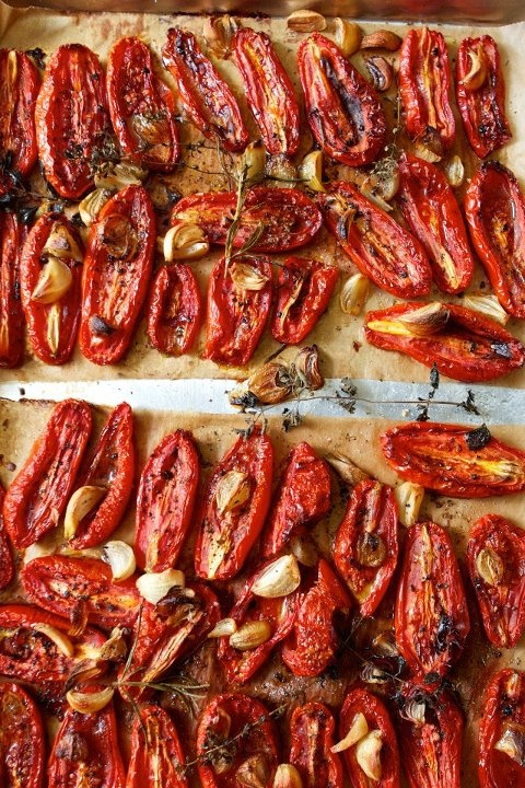 Slow-Roasted Tomatoes | To Make To Eat | Pinterest