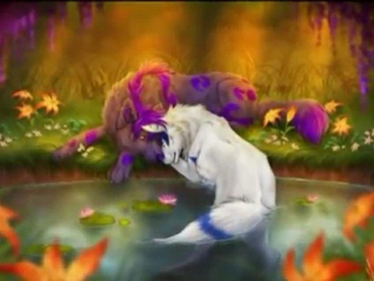 Anime Wolves Wolves Pinterest