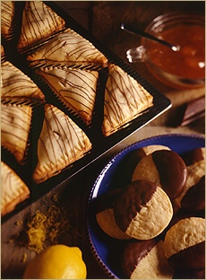 Chocolate and Apricot-Filled Triangles | Chocolate | Pinterest