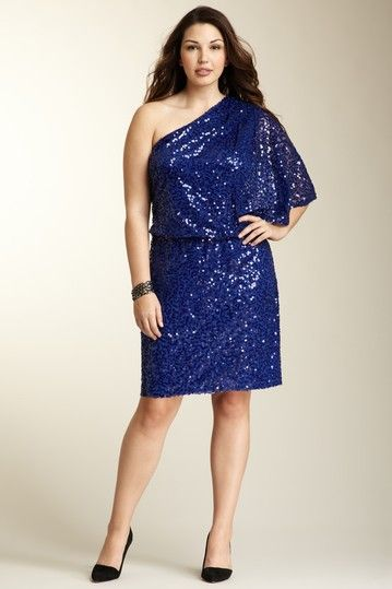 plus size clothes in royal blue