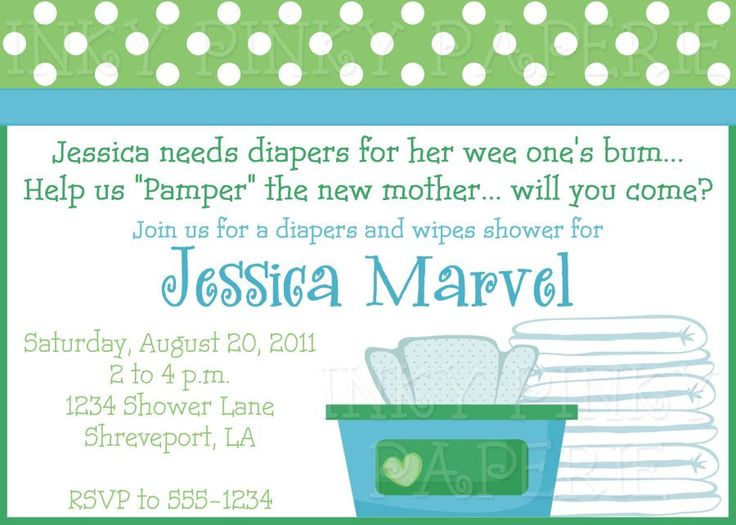 baby shower invitation wording for diapers and wipes 28 images